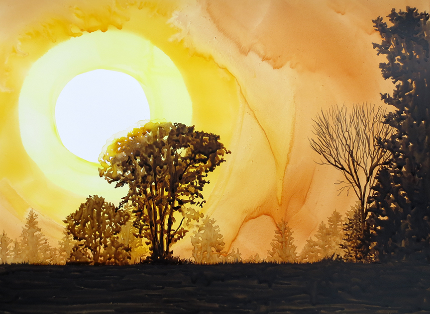"""Early Morning Light 19"""" x 14"""""""